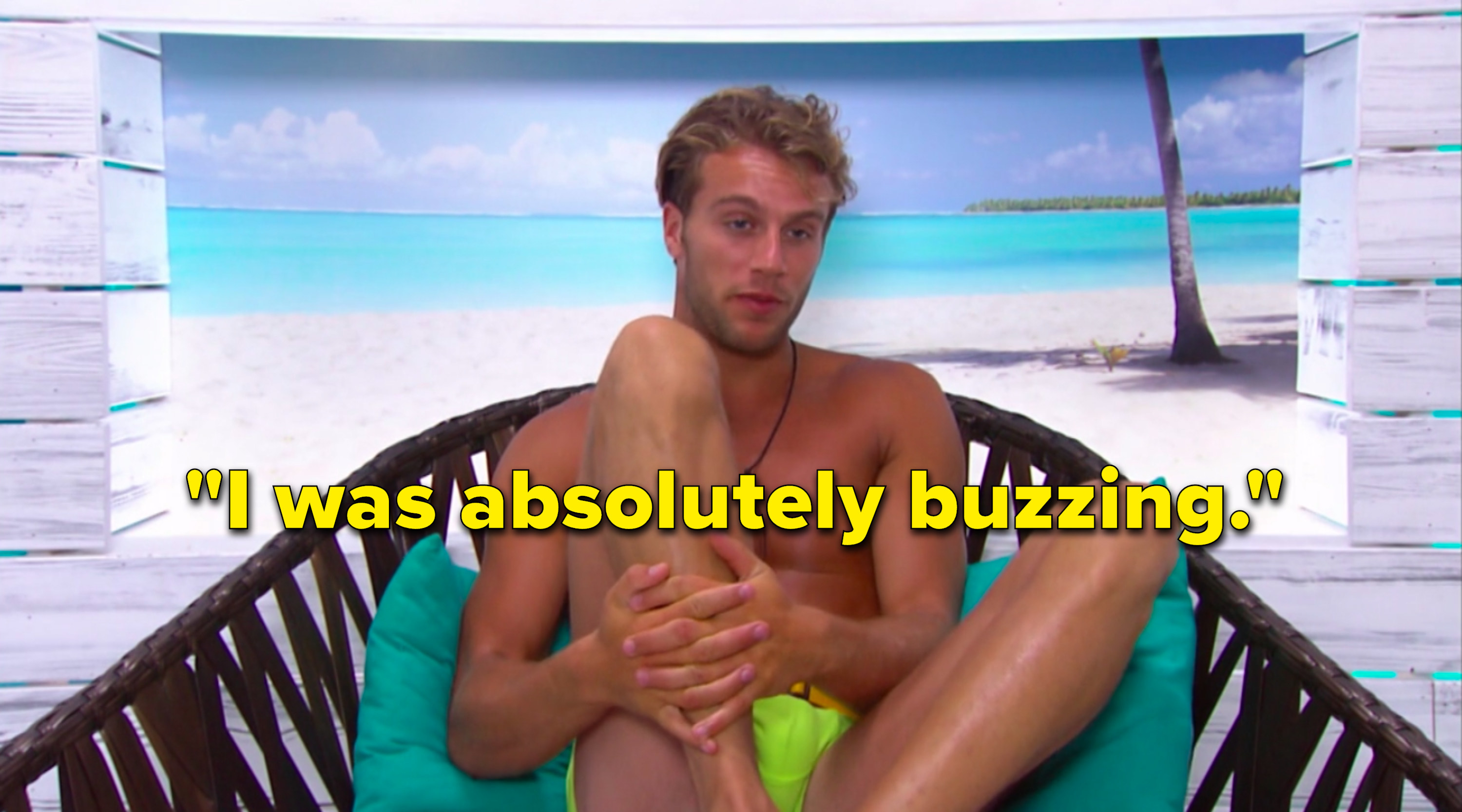 """Max says,""""I was absolutely buzzing"""""""