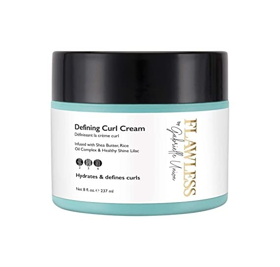 The defining curl cream in its packaging