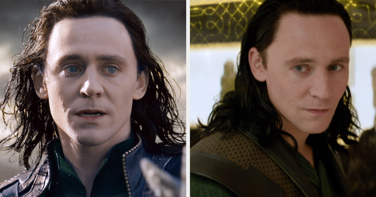 Loki's hair in thor: the dark world was longer and greasier than we'd seen before