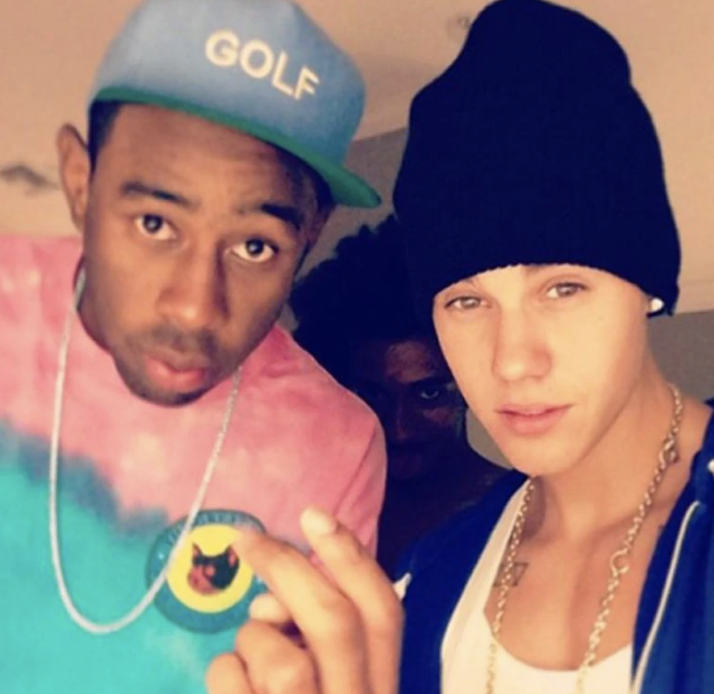 Tyler and Justin posing for a photo