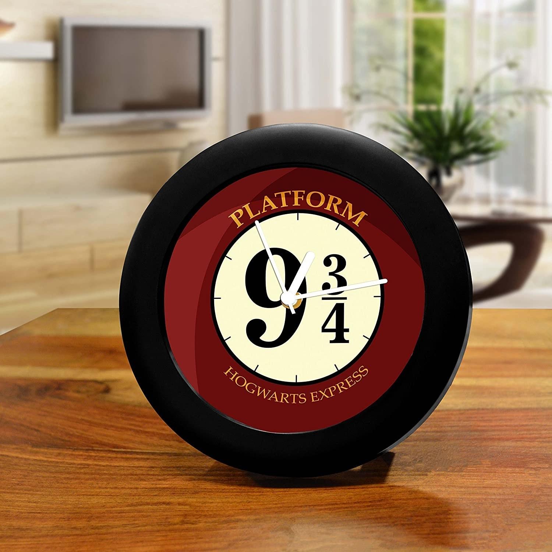 APlatform 9 3/4 table clock.