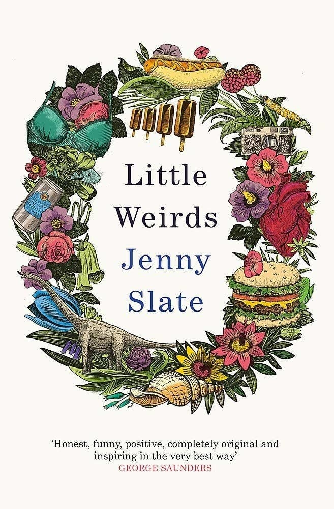 The front cover of Little Weirds by Jenny Slate.