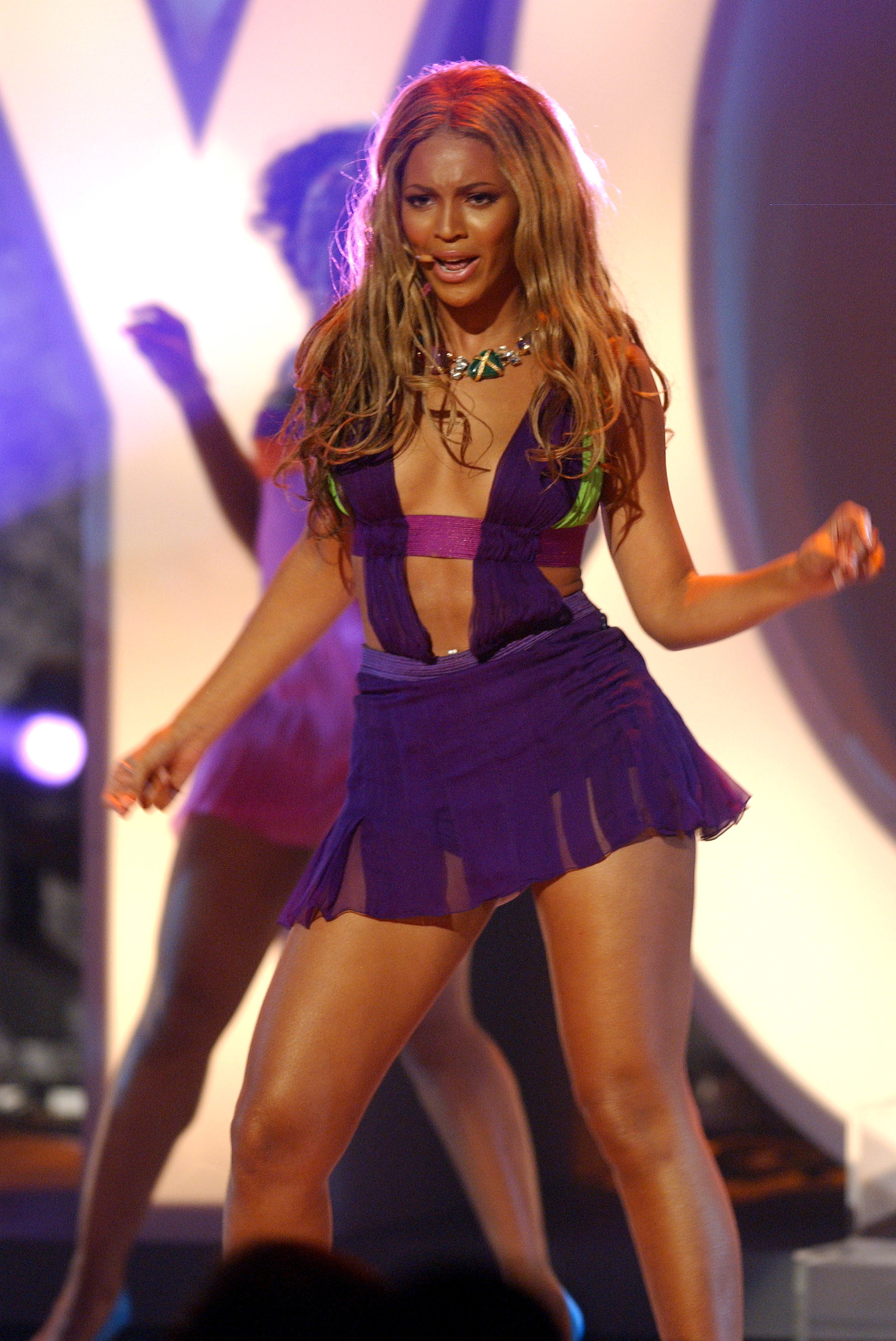 Beyonce Performs during The 3rd Annual BET Awards Show at The Kodak Theater in Hollywood, California in 2003