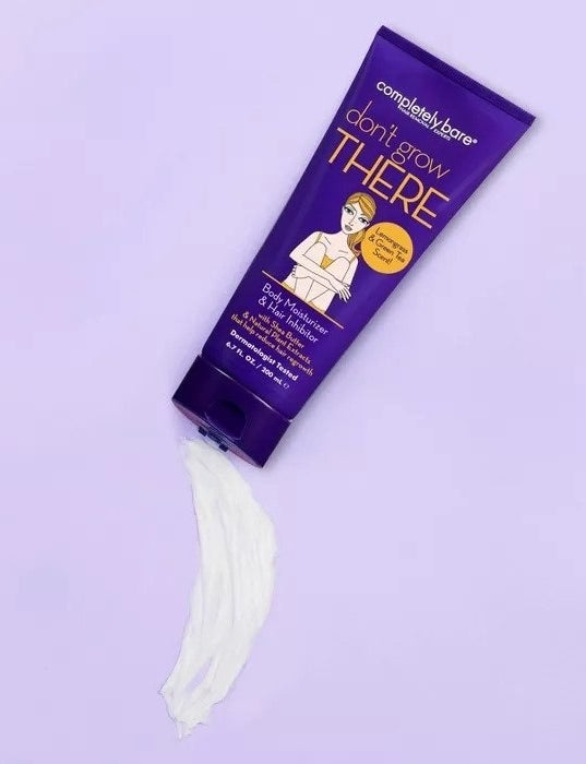 Lotion coming out of tube