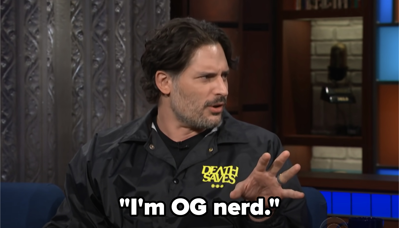 """Joe saying """"I'm OG nerd"""""""