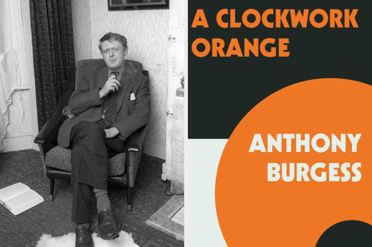 Anthony Burgess with A Clockwork Orange