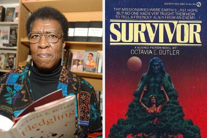 Octavia E Butler and the cover of Survivor