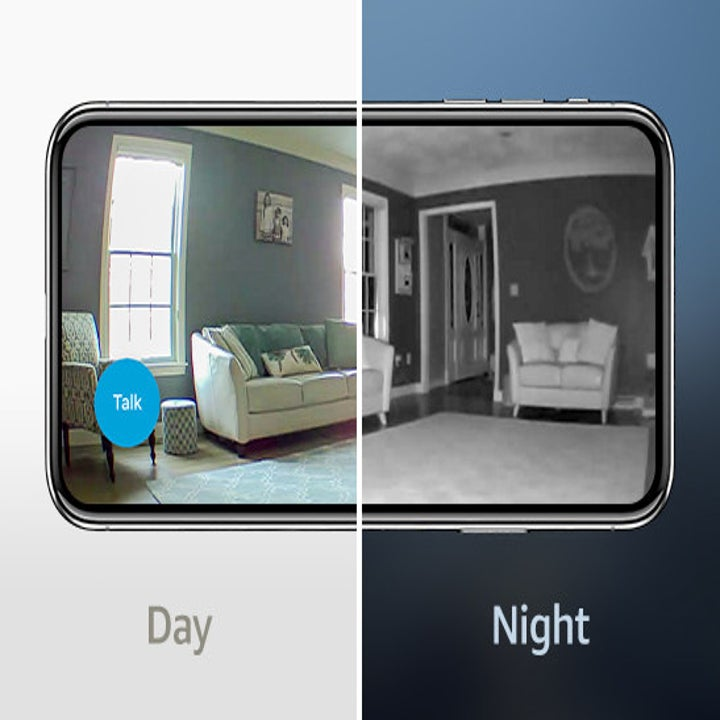 A comparison of day and night views