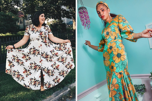 Just 32 Of The Most Gorgeous Floral Dresses You Can Get On The Internet