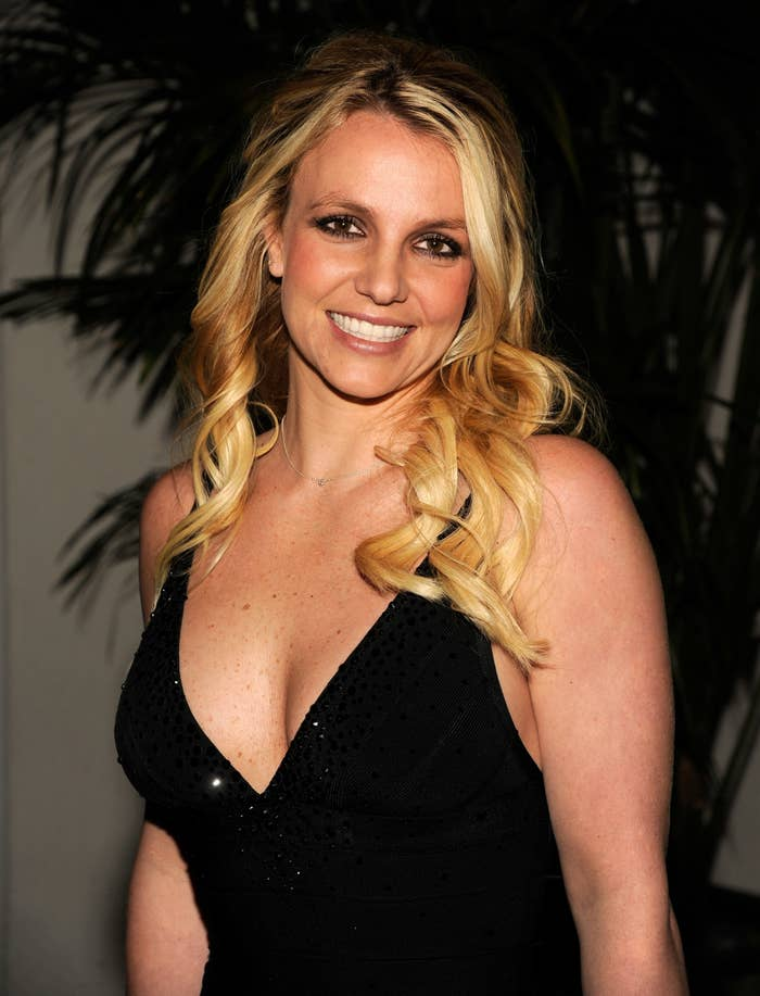 Britney Spears attends Clive Davis And The Recording Academy's 2012 Pre-GRAMMY Gala And Salute To Industry Icons Honoring Richard Branson at The Beverly Hilton hotel on February 11, 2012 in Beverly Hills, California