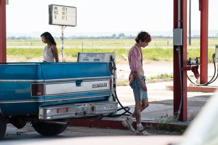"""Timothée Chalamet and Taylor Russell star in Luca Guadagnino's """"Bones and All"""""""