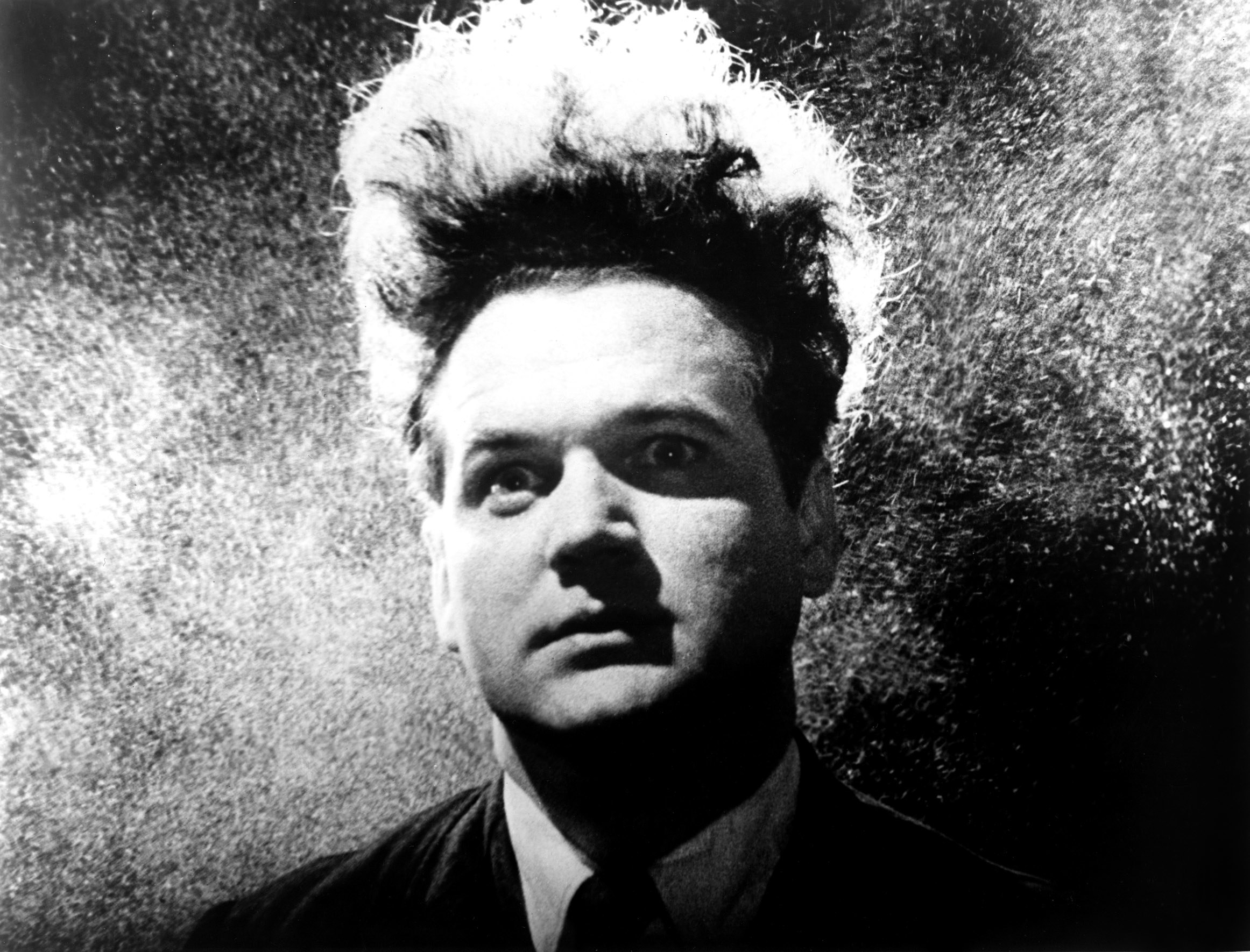 Jack Nance with wild hair in the film