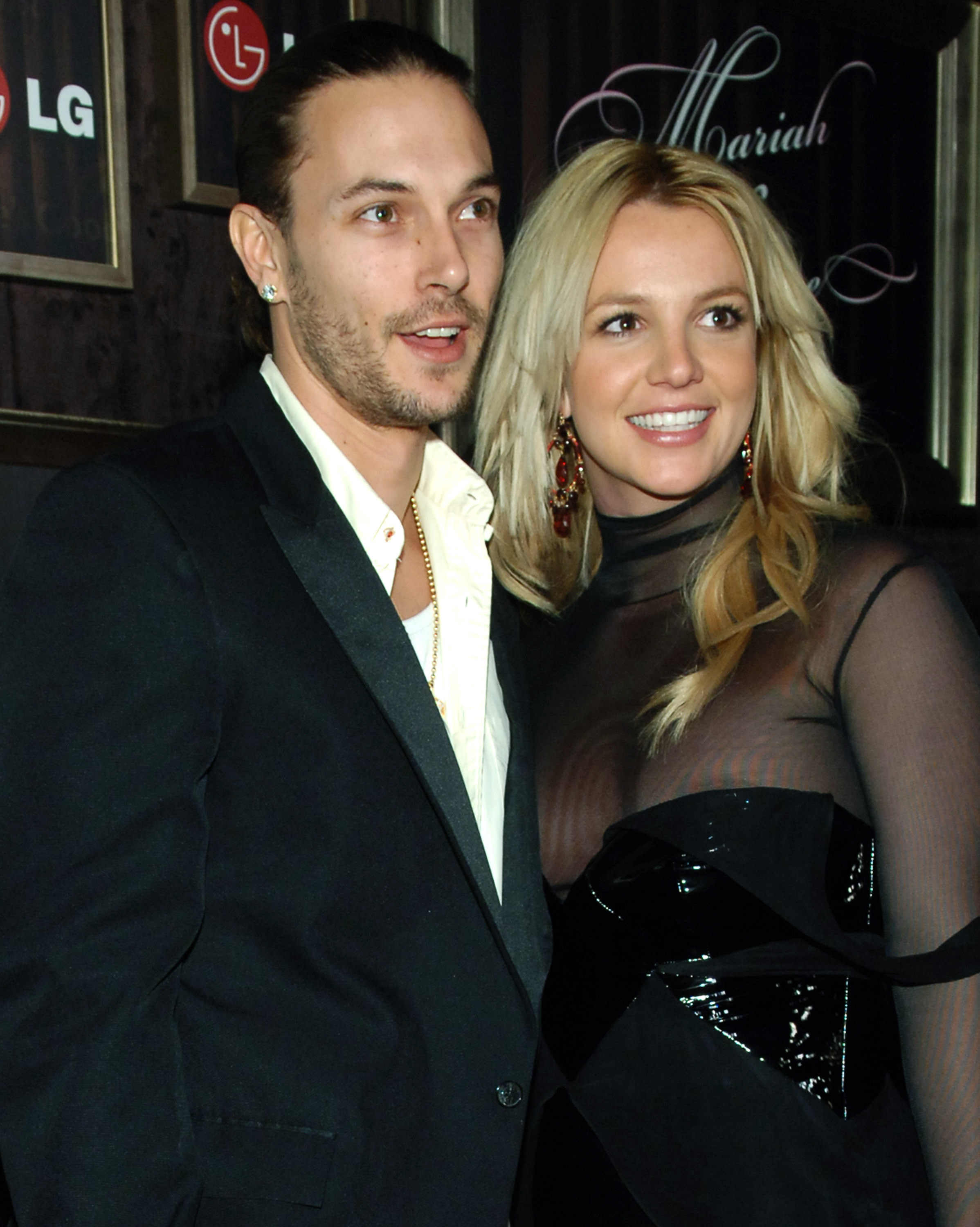 Kevin Federline and Britney Spears during Mariah Carey and Jermaine Dupri Host GRAMMY After Party Sponsored by LG at Private Home in Hollywood, California
