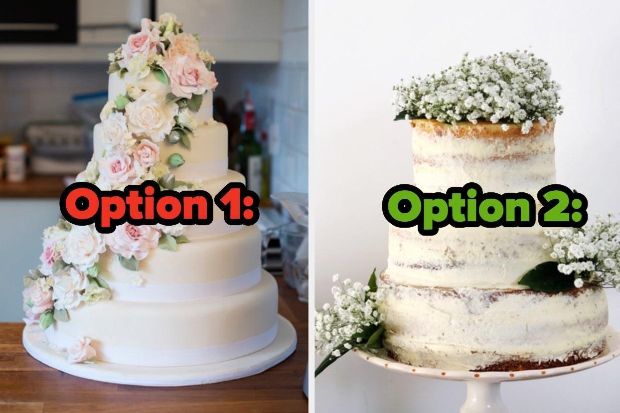 Wedding cake options