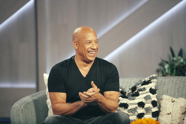 Vin Diesel on the Kelly Clarkson Show