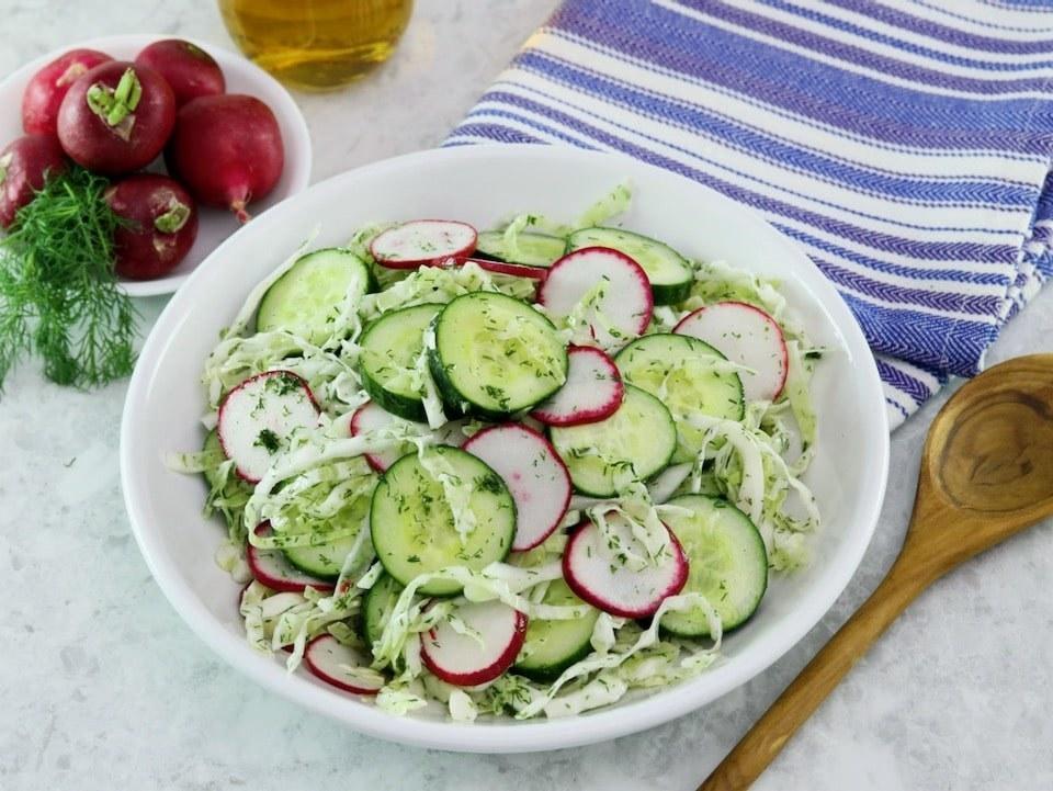 Crunchy Pickled Salad
