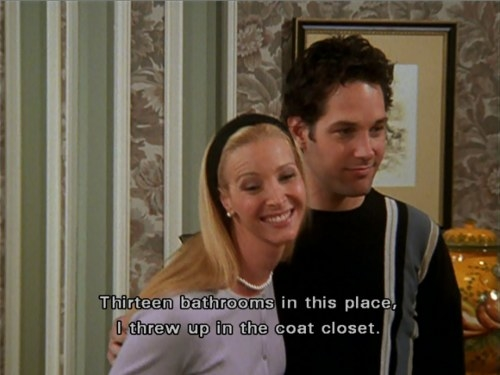 Phoebe meeting the parents with Mike