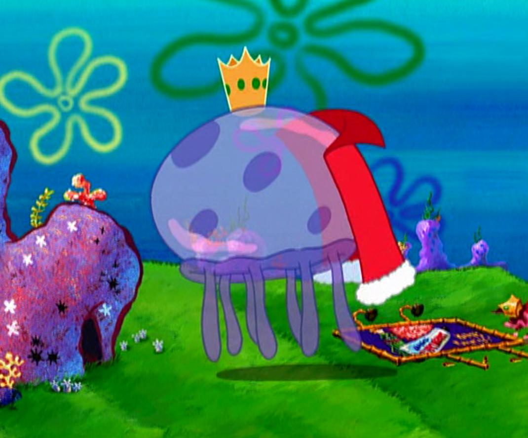 King Jellyfish from SpongeBob