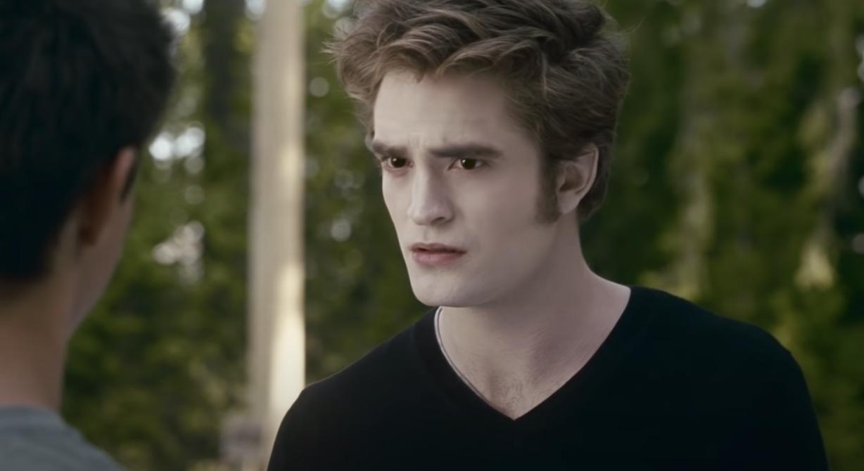 Edward talking to Jacob