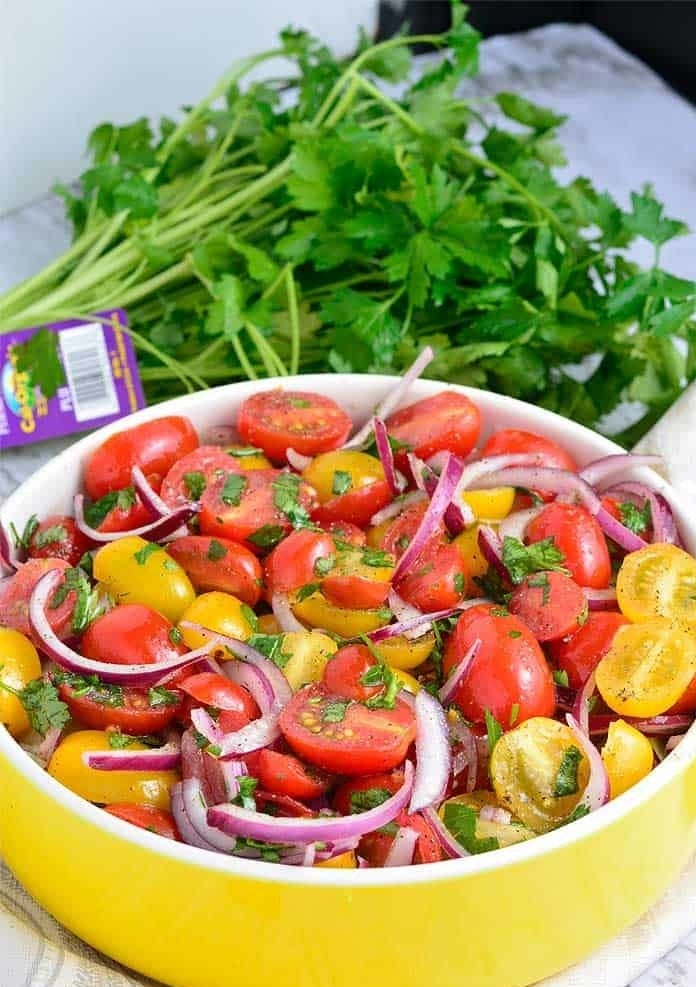 Quick and Easy Tomato Salad