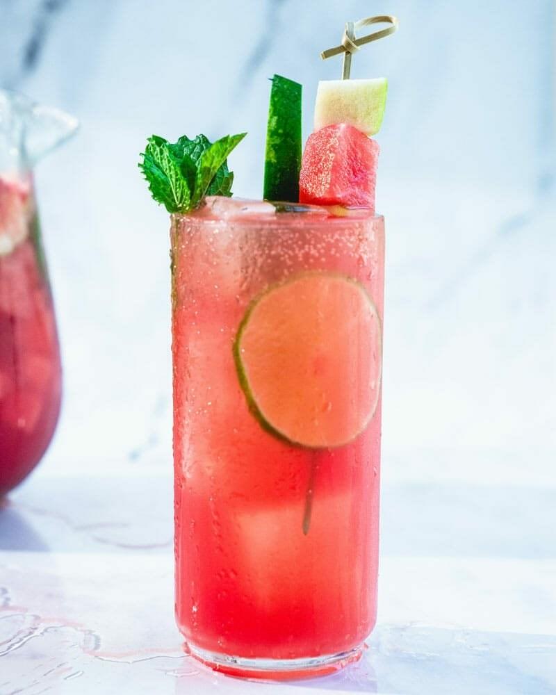 Easy Watermelon Sangria