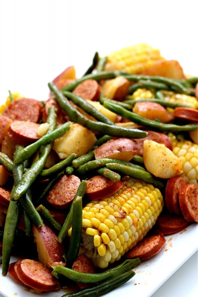 Instant Pot Smoked Sausage Country Boil