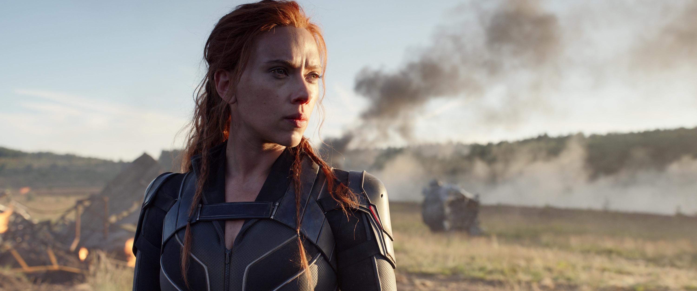 Marvel Studios Black Widow starring Scarlett Johansson