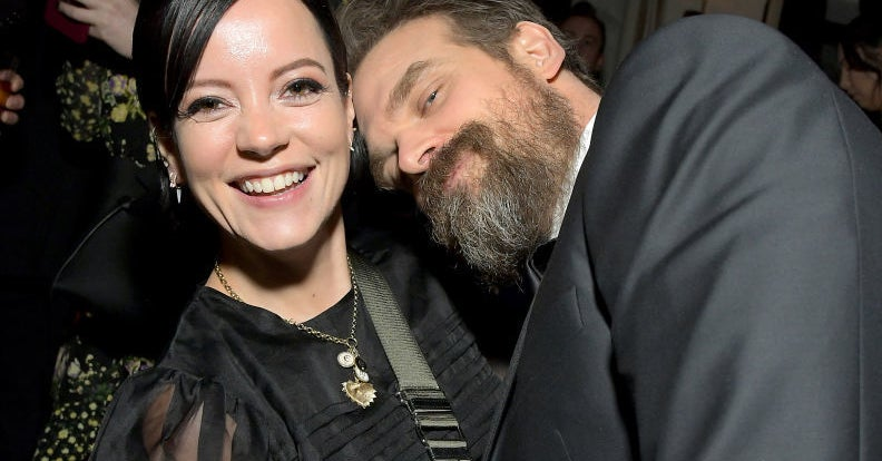 David Harbour Revealed Why He Got Married To Lily Allen During The Pandemic And It's Too Sweet – BuzzFeed