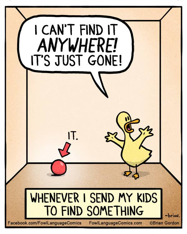 funny comic about a duck