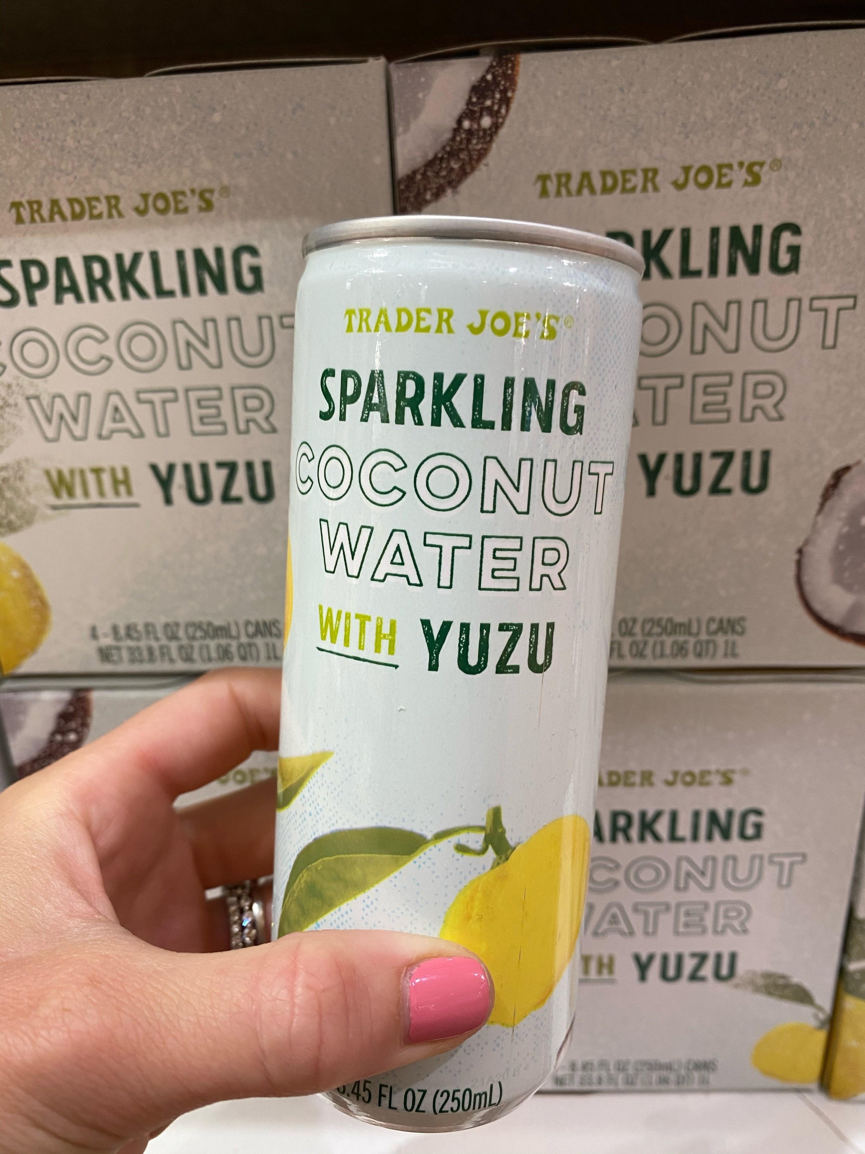 Sparkling Coconut Water With Yuzu