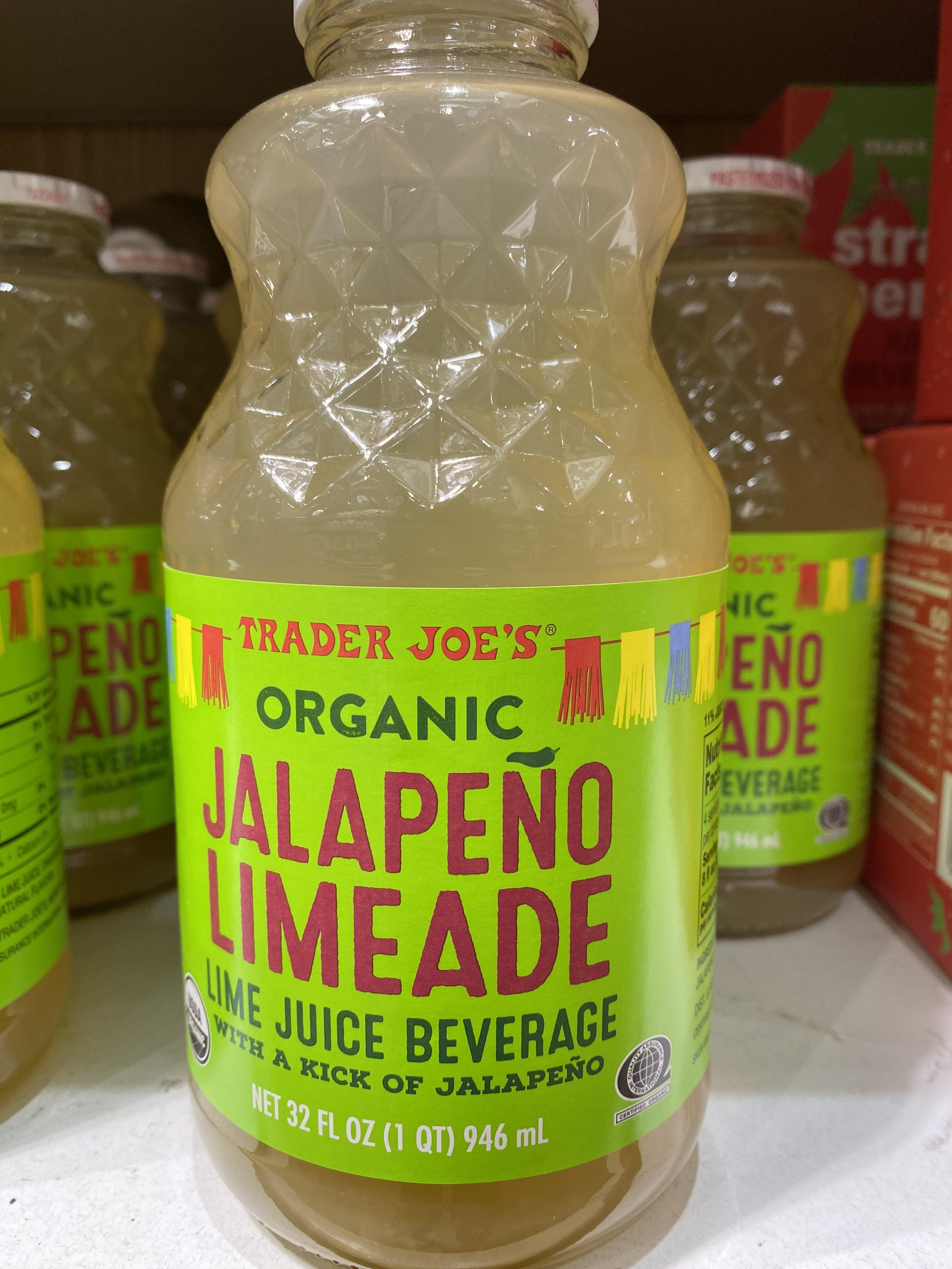 Trader Joe's Jalapeño Limeade.