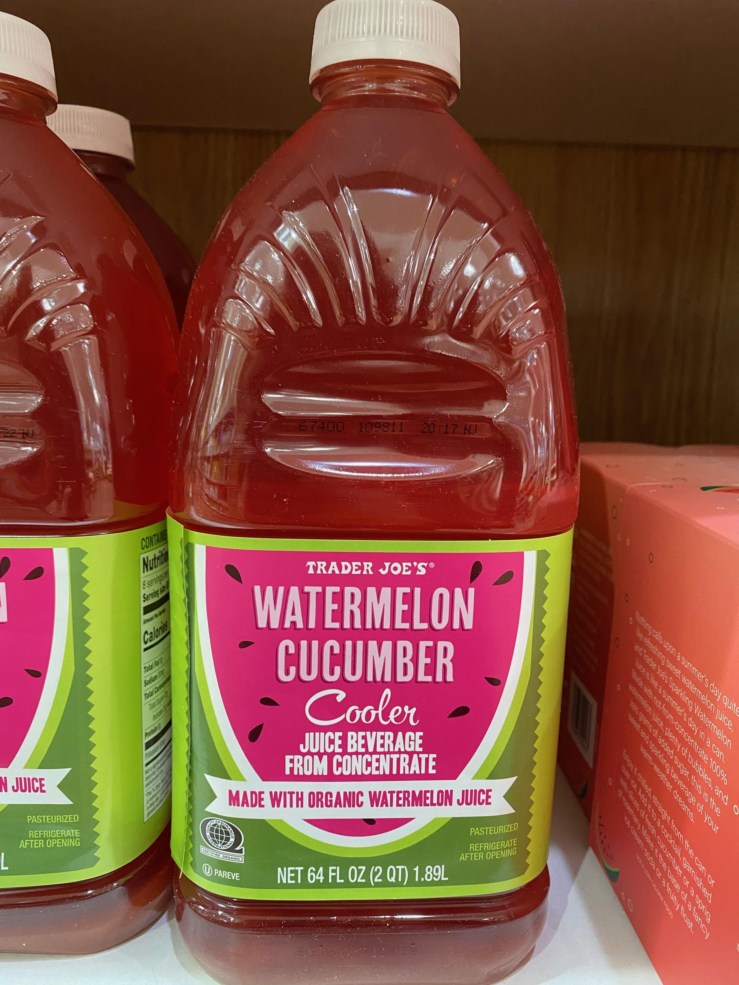Watermelon cucumber cooler.