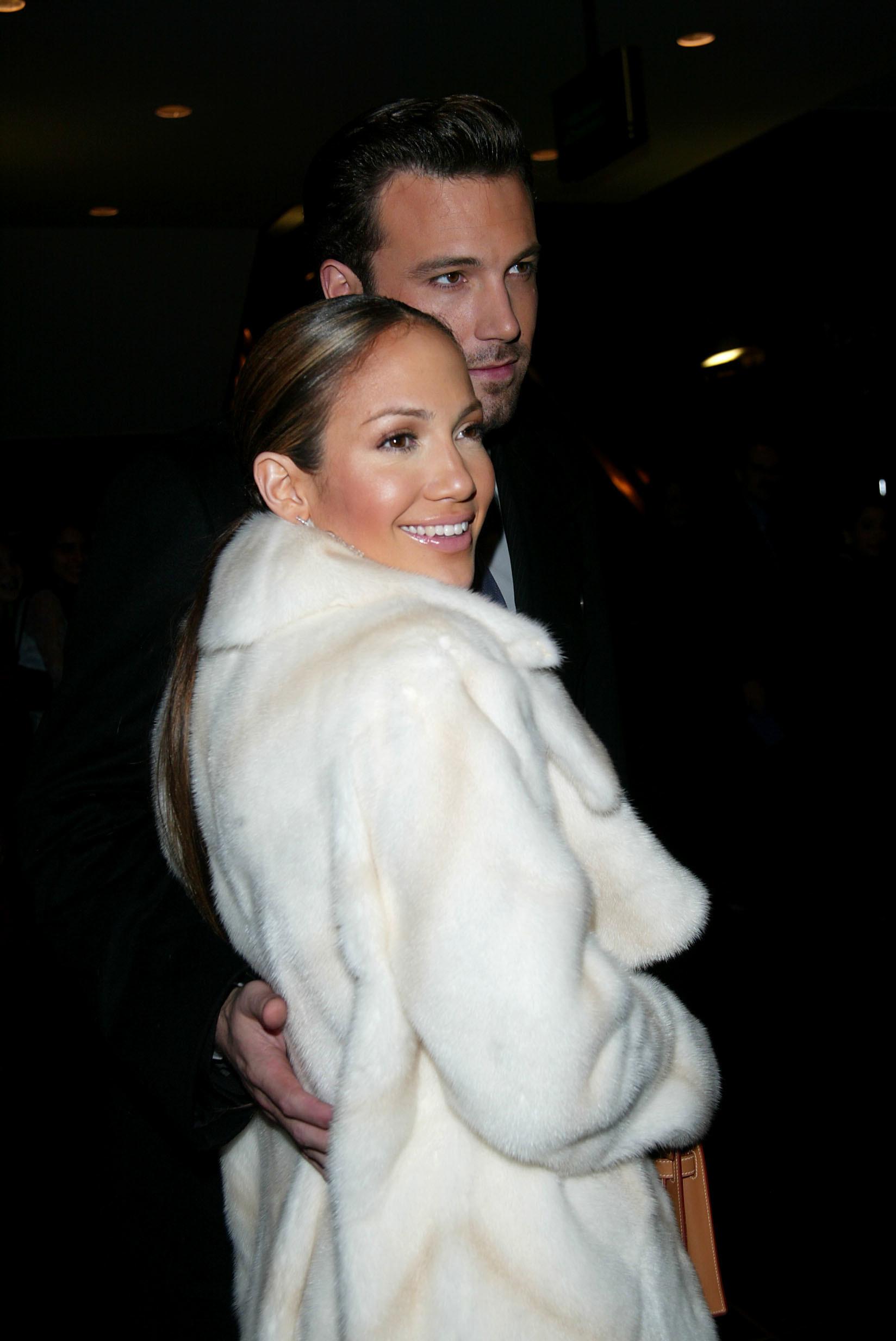 Ben Affleck and Jennifer Lopez walking together