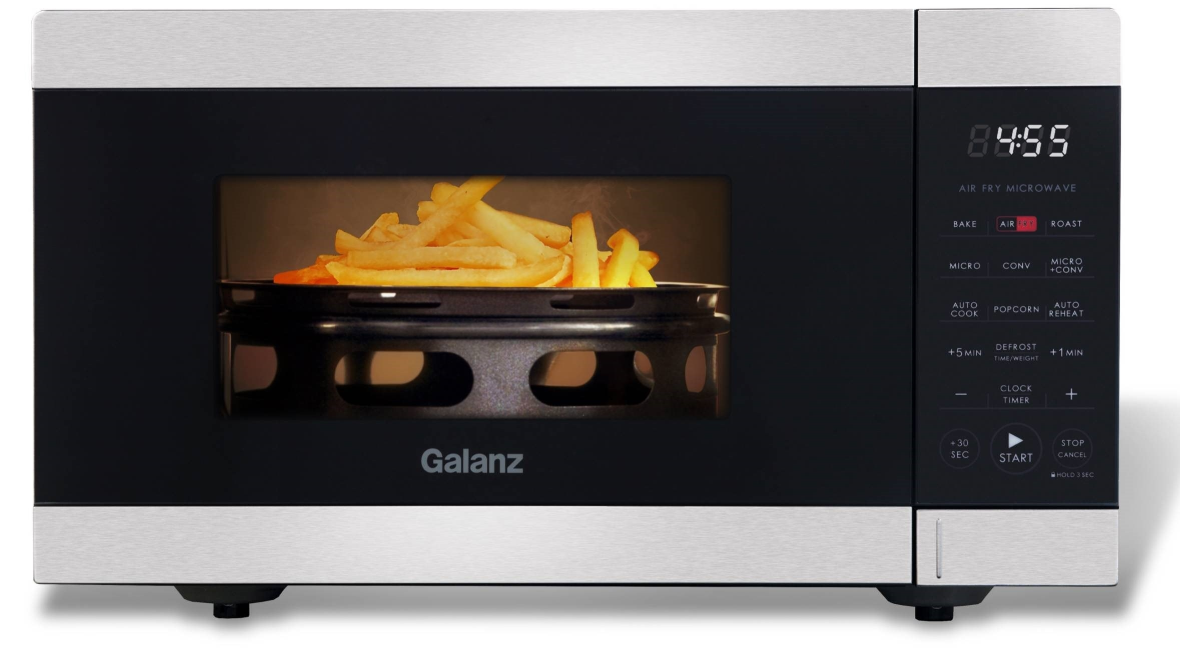 An air fry microwave oven