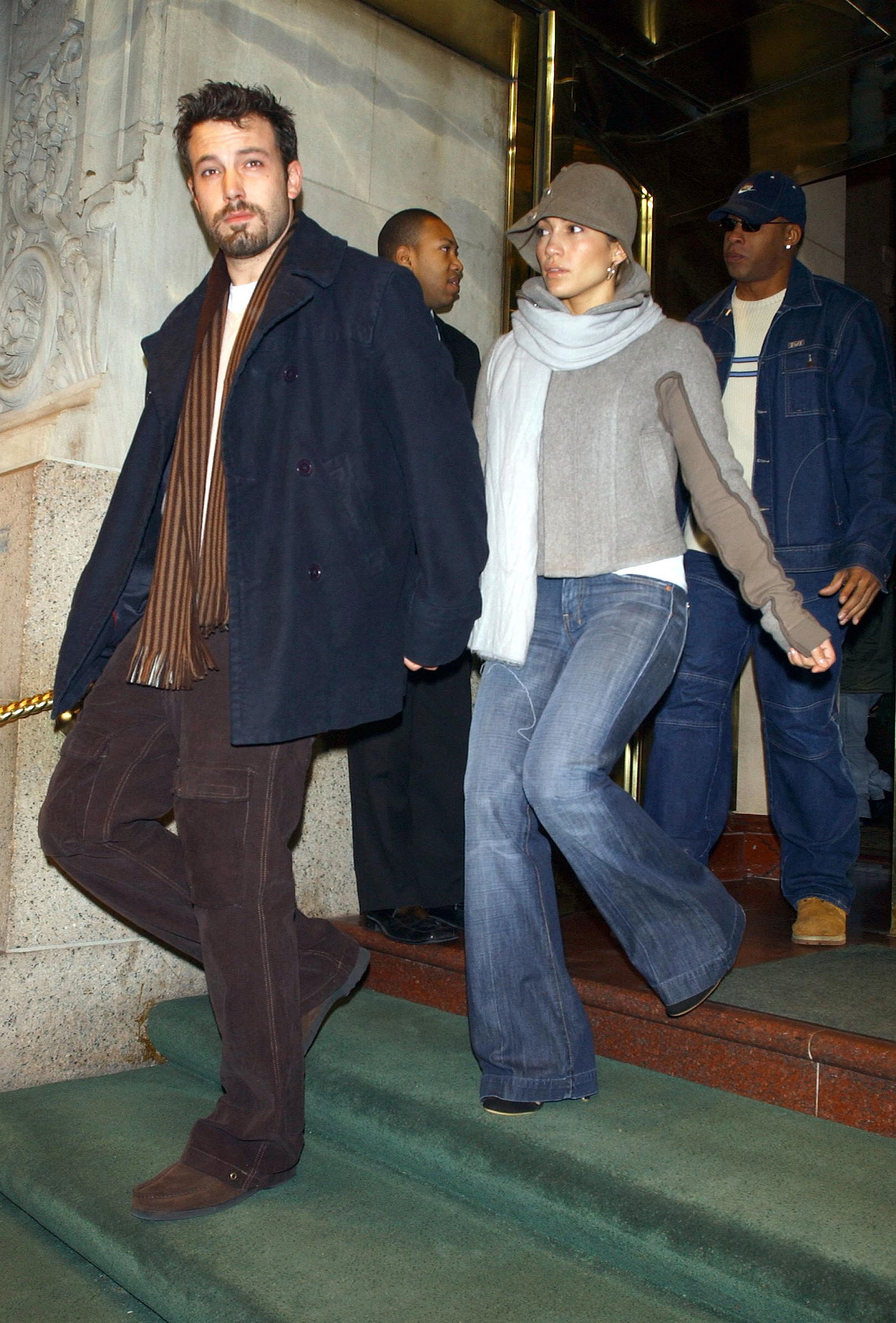 Jennifer Lopez and Ben Affleck in NYC