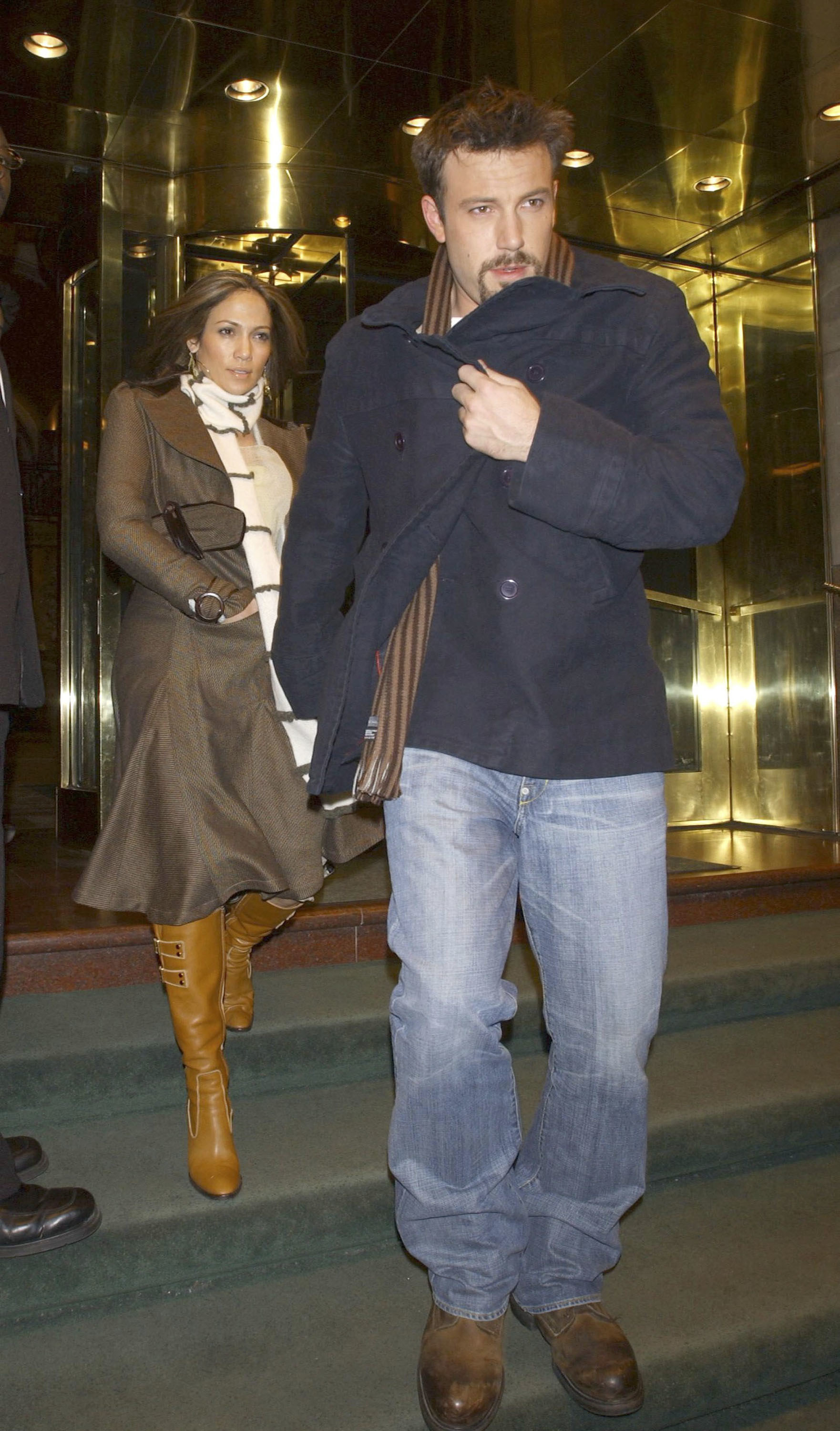 Ben Affleck and Jennifer Lopez in NYC
