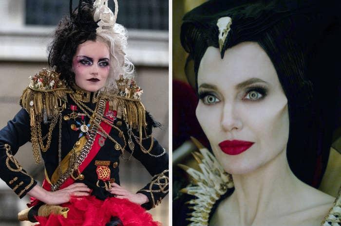 Cruella and Maleficent
