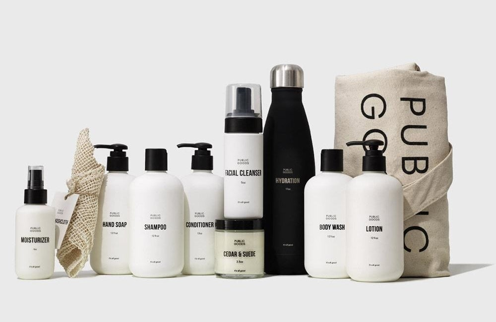 photo image of all the components of the self-care kit