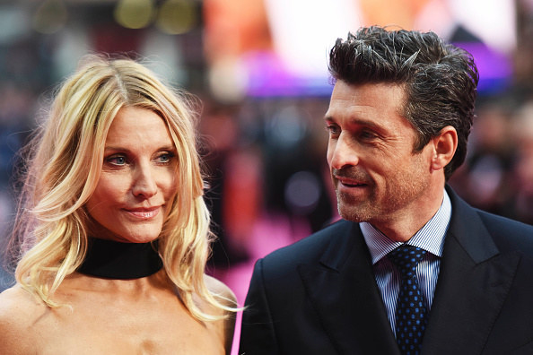 """The hairstylist and the actor who played Derek Shepherd on """"Grey's Anatomy"""""""