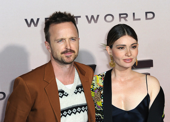 """The """"Westworld"""" and """"Breaking Bad"""" actor with the filmmaker at a """"Westworld"""" event"""