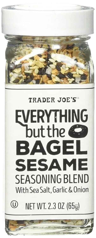 The jar of Trader Joe's Everything but the Bagel Sesame Seasoning Blend