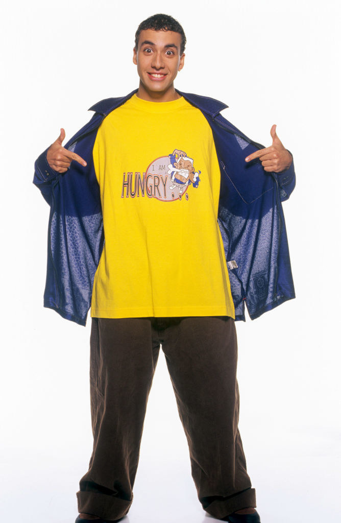 """Howie D with an """"I'm hungry"""" shirt"""
