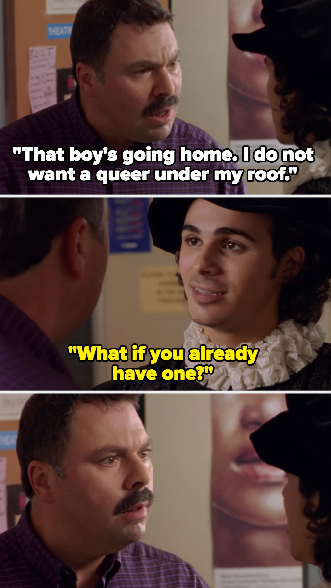 """Marco's father says he """"doesn't want a queer under his roof,"""" Marco says he already has one"""