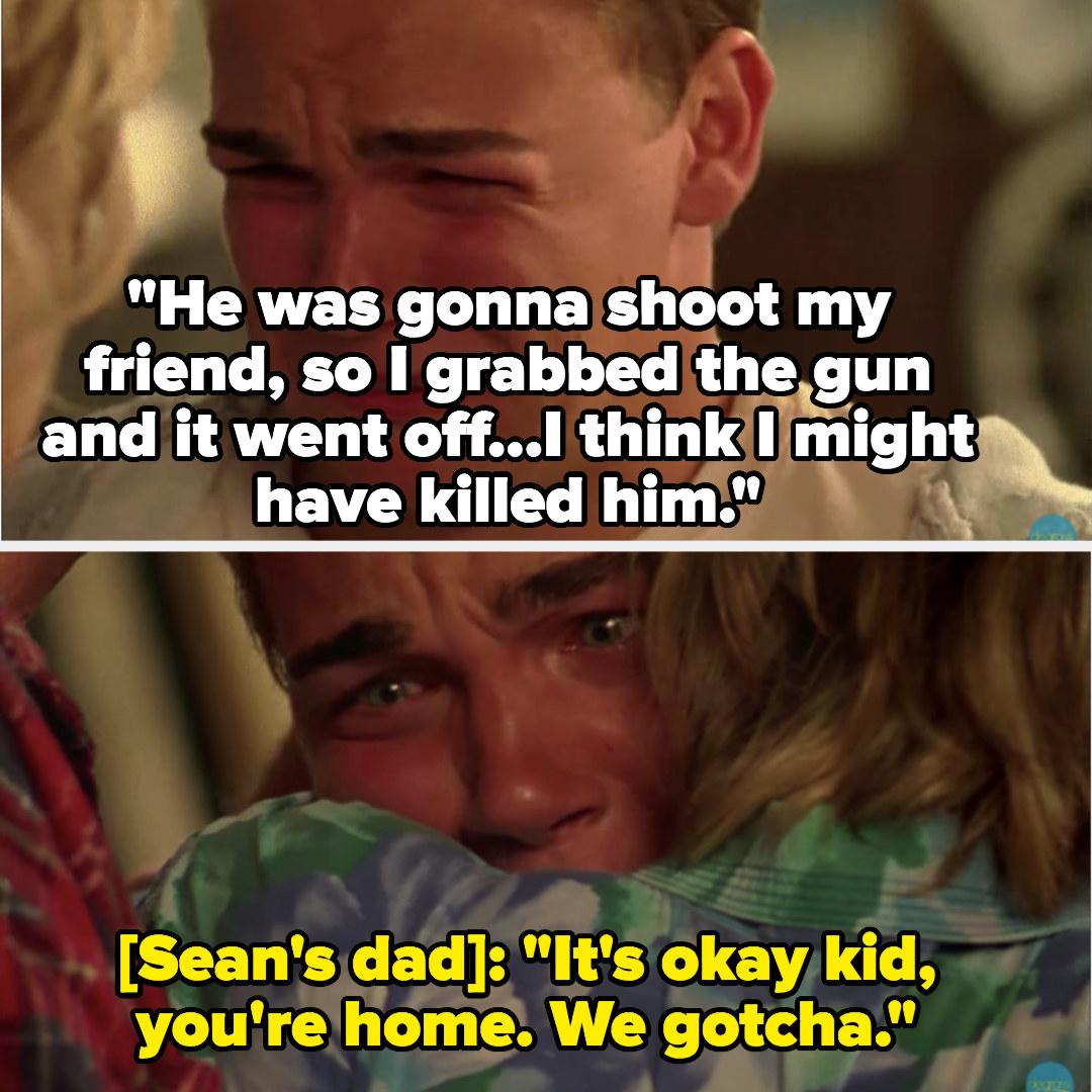 Sean says he might have killed Rick, his parents hug him and say it's okay
