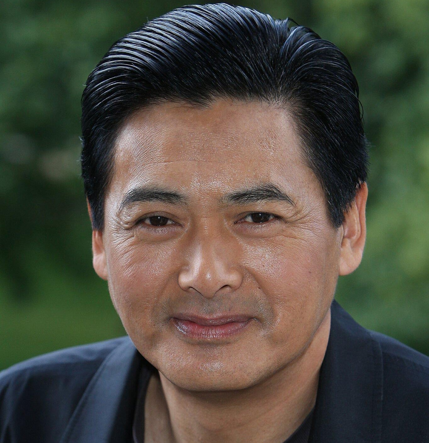 Chow Yun-Fat smiles for the camera