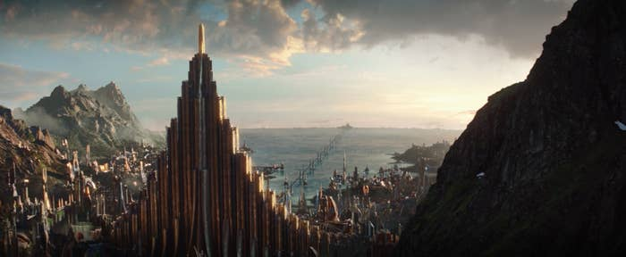 A city in Asgard