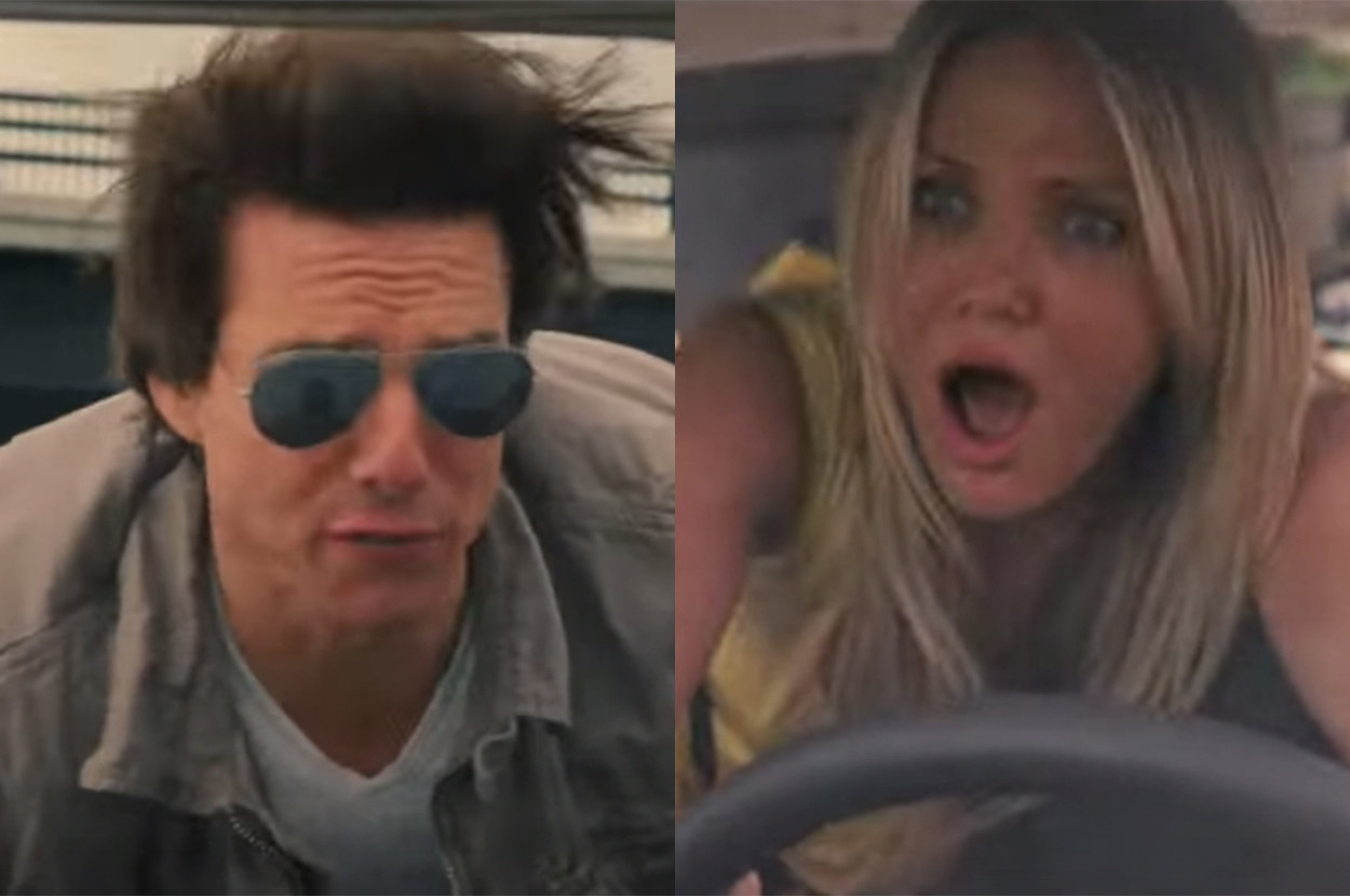 they did a lot of driving stunts