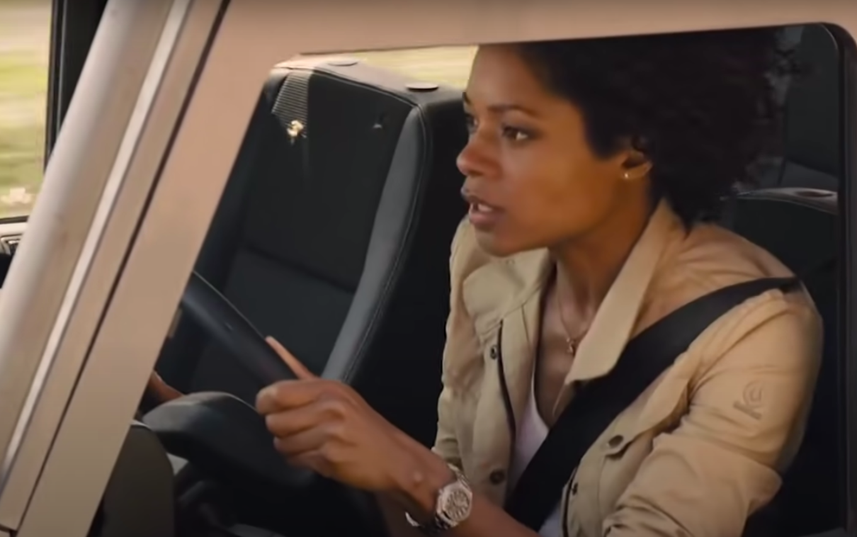 she did a lot of driving stunts