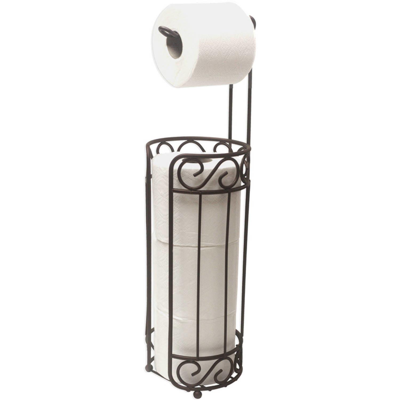 The toilet paper holder and dispenser