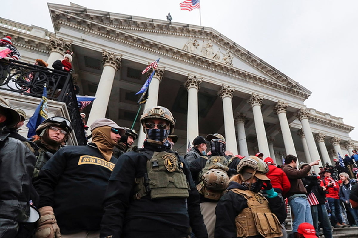 An Oath Keeper Will Admit His Group Stashed Guns Outside DC For Jan. 6